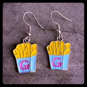 NWT - French Fry Earrings